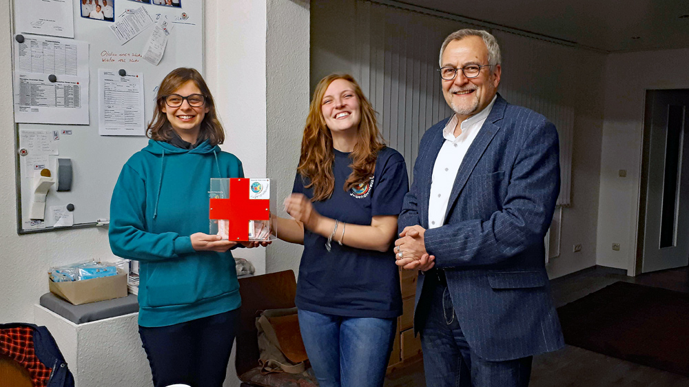 JRK-Allertal, Spendenübergabe