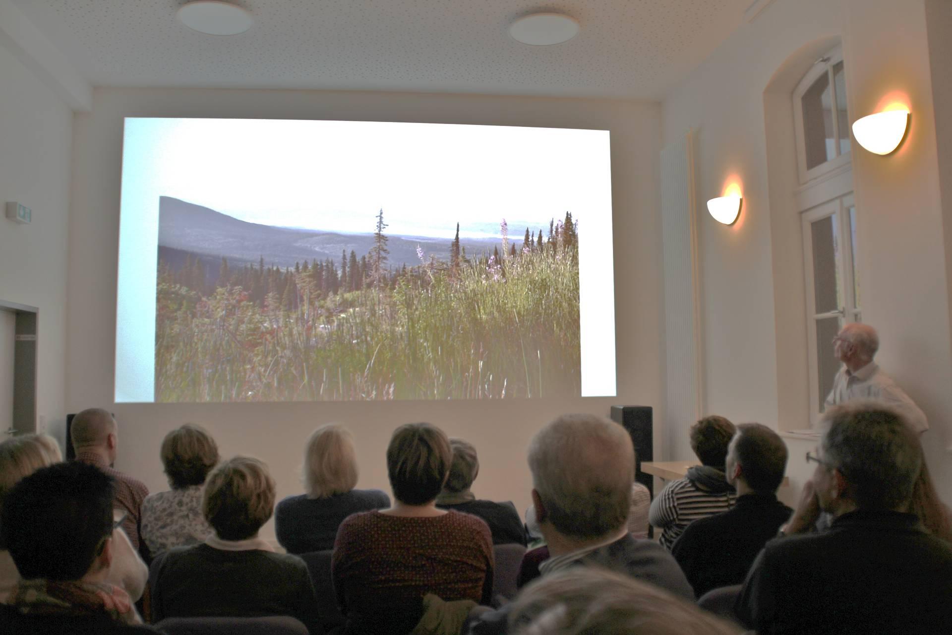 Die wunderbaren Landschaftsaufnahmen begeisterten die Zuschauer (Fotos: D. Altmann).