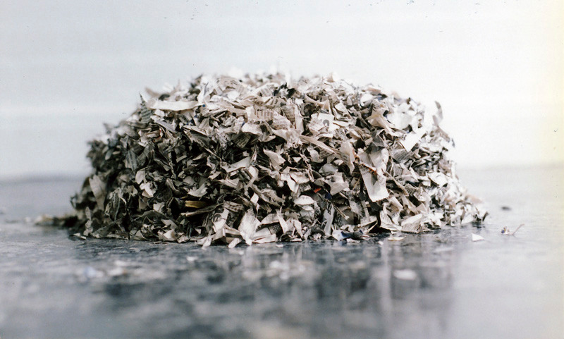 Paper pile II 1993 (newspaper)