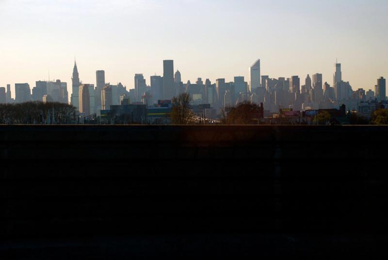 Manhattan skyline from the east