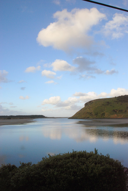 Papanui Inlet from Betty's Bach, Otago Peninsula
