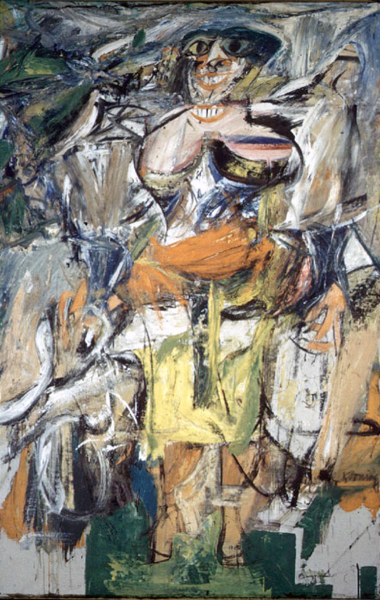 Willem de Kooning (Woman with a bicycle 1952/3)