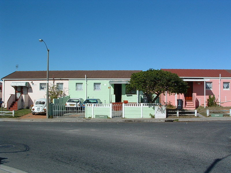 Housing in Rocklands, Mitchell's Plain 2009 Courtesy Tim Giddings