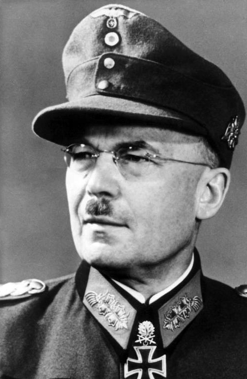 Generaloberst Lothar Rendulic, Commander of the 20th Mountain Army accused and acquitted of Nordlicht Campaign war crimes but convicted of other war crimes in Yugoslavia, Greece and Alabania (Bundesarchiv, Bild 146-1995-027-32A, 1945).