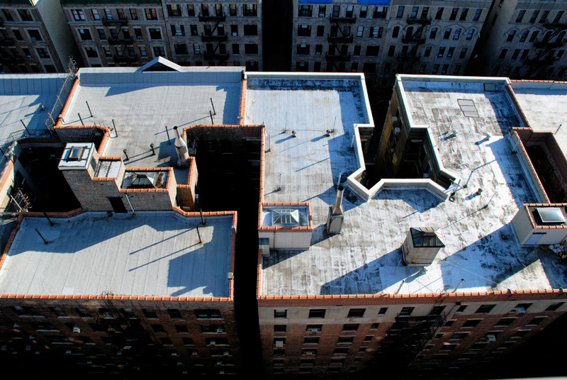 Roofs on the Upper West side