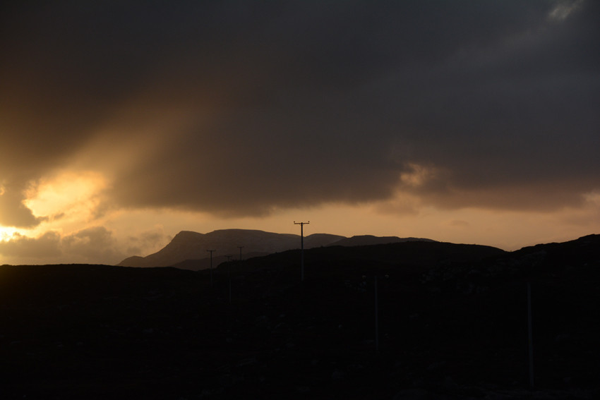 Sun rise at Fearnmore, Applecross Peninsula on the Winter Solstice, December 21st 2014.