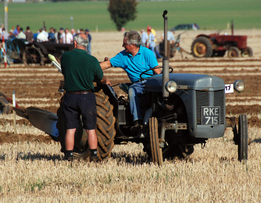 Tactics for the next furrow (East Kent Ploughing Match 2011)