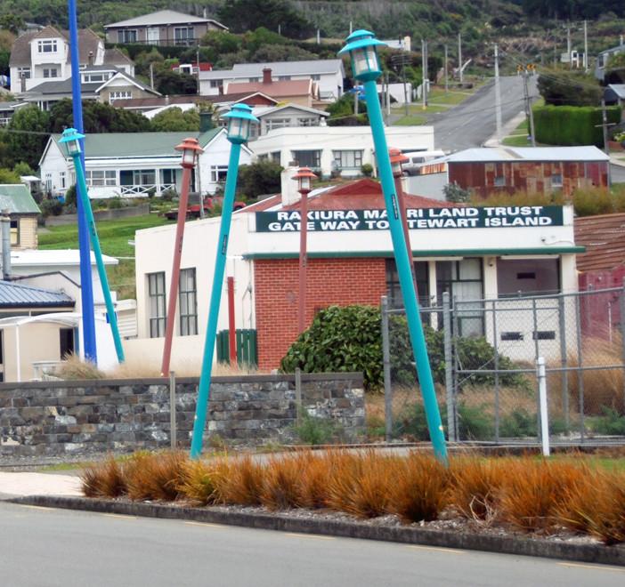 The Rakiura (Stewart Island) Maori Land Trust building, Bluff, NZ