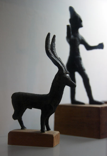 Bronze Statues, Museum of Cyprus, Nicosia (7th to 5th century BC).