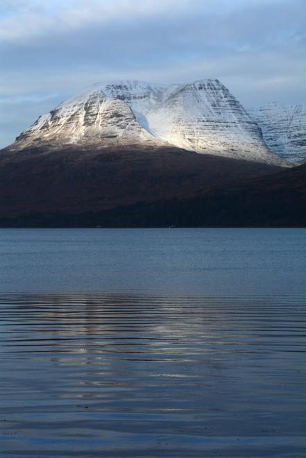Beinn Alligin and Loch Torridon.