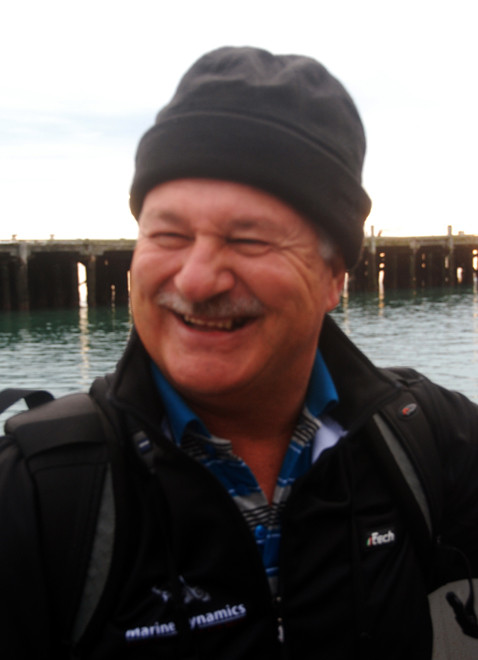 Wilfred Chivell, Owner of Marine Dynamics, Gaansbaai, South Africa - a shark cage diving company. Also nd founder of the Dyer Island Conservation Trust.