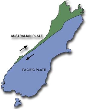 The Alpine Fault (University of Otago - click for link)