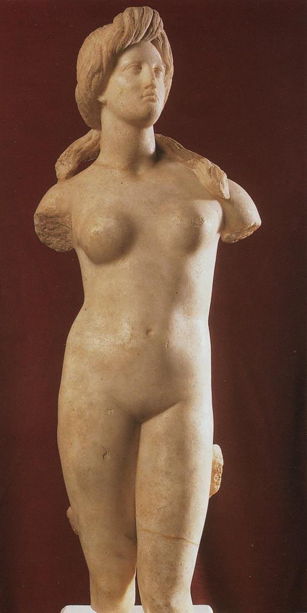 Aphrodite 1st century BC (Marble), Cyprus Museum Nicosia