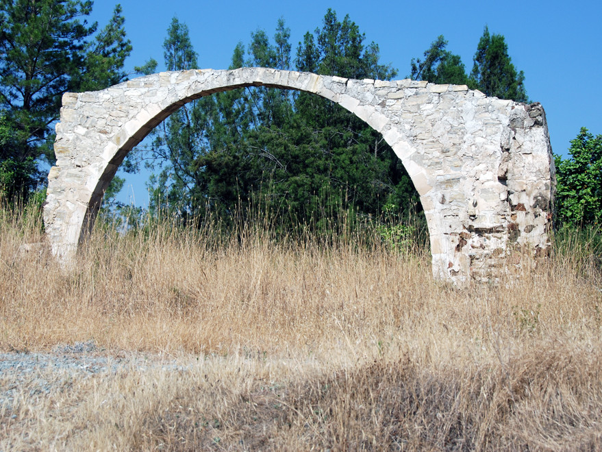 Turkish Cypriot (?)  free-standing arch near the A1 near Pyrga