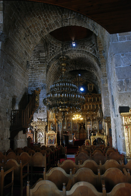 Intererior, St Lazarus Church, Larnaca, Late 9th Century.