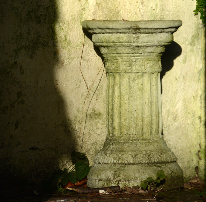The Empty Pedestal.