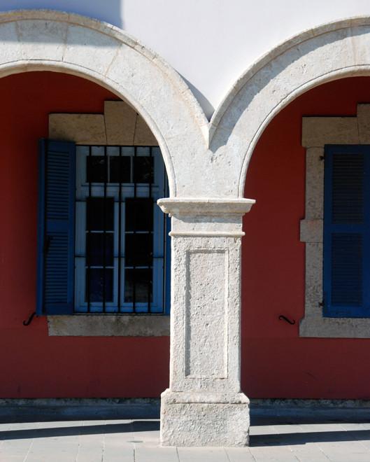 Detail Europa Square Building, Larnaca.