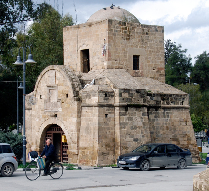The Kyrenian gate, part of the Venetian walls, North Nicosia