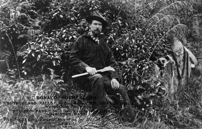 Donald Sutherland, circa 1878. Photographer unidentified.