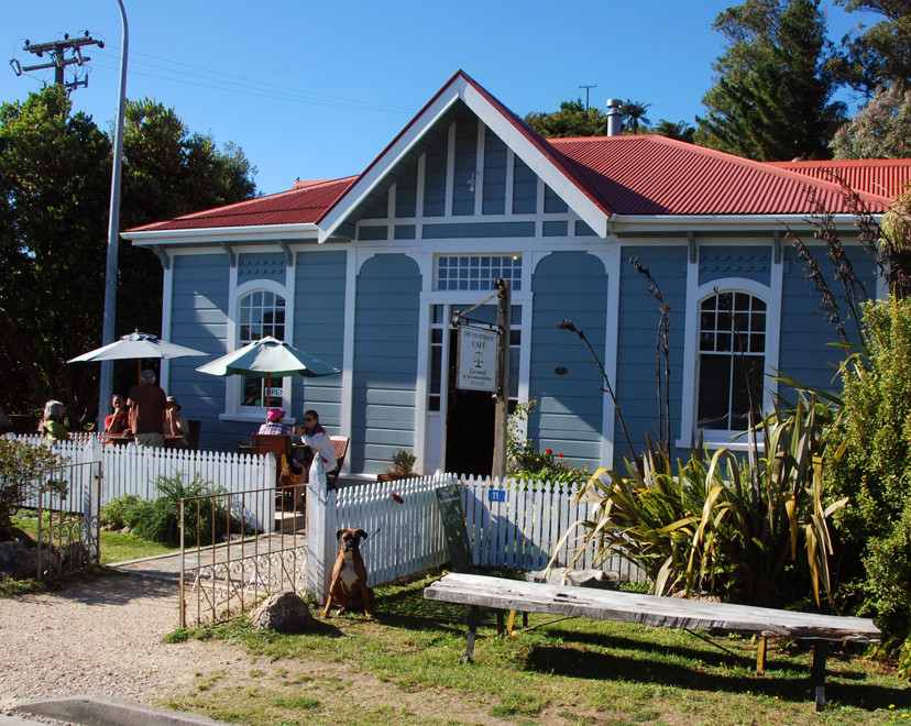 The Court House Cafe, Collingwood (with Boxer Dog), Golden Bay
