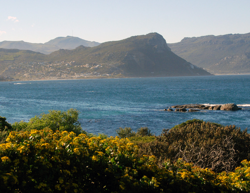 Looking north to Silvermine Nature Reserve