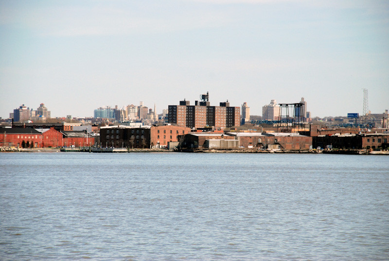 Red Hook from the Staten Island Ferry