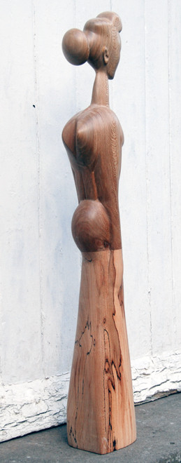 Standing Woman 2009 (London Plane and Beech) (77x10x12) Fergus Murray