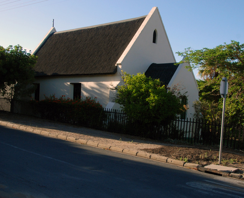 Thatched church in Montagu