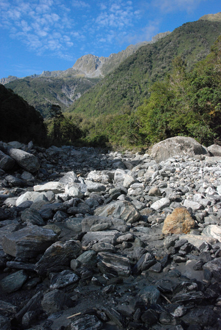 Mill Creek near Fox Glacier