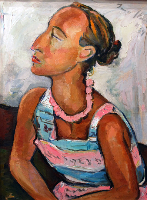 ORTRAIT OF HELENE KRIEL, BY IRMA STERN 1959