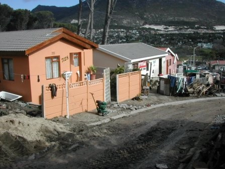 New homes at Imizamo Yethu (courtesy Hout Bay Community Christian Association)