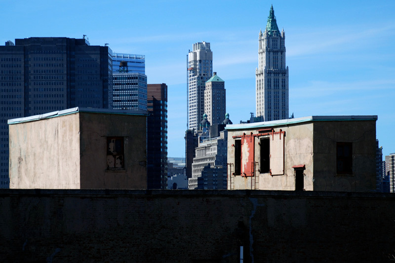 Woolworth's Building from Brooklyn