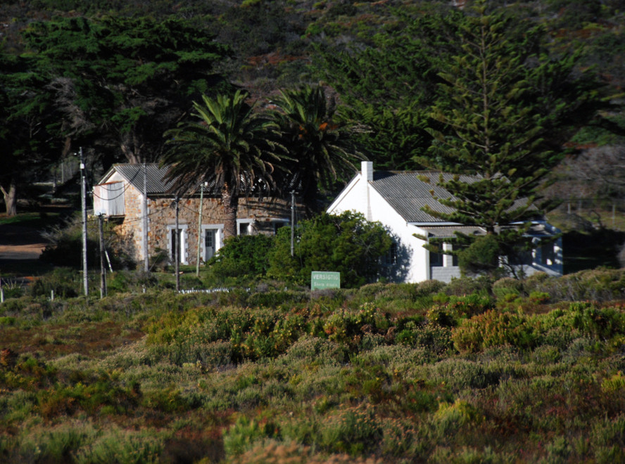 Isolated farmstead at Klipfontein near the Cape of Good Hope