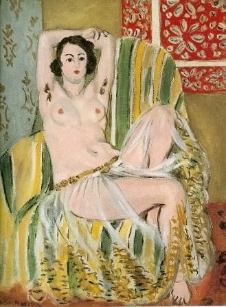 Odalisque with arms raised, 1923, National Gallery of Art, Washington, DC.