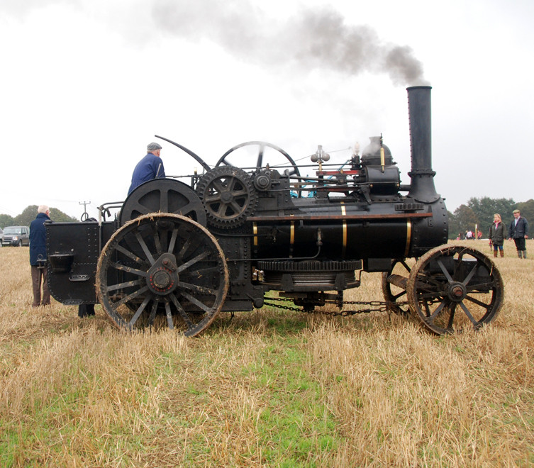 Age of Steam and the cable-drawn plough: East Kent Ploughing Match 2010