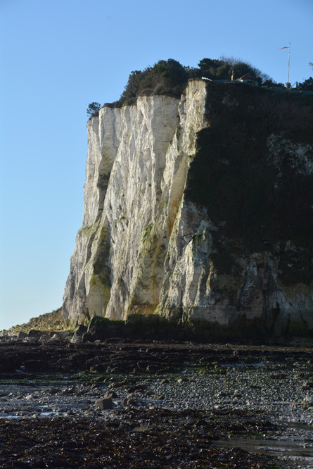 Ness Point Cliffs in the Bay.