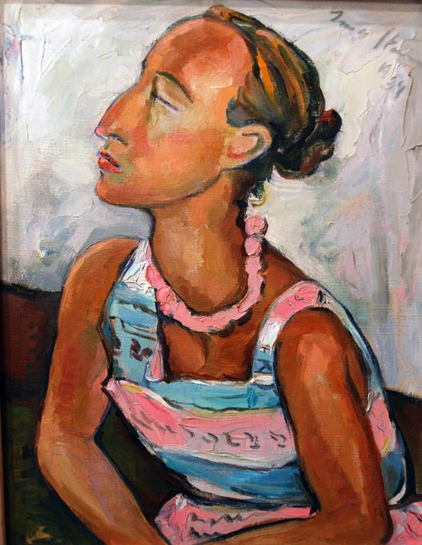 Portrait of Helen Kriel (1939) Irma Stern, Irma Stern Museum