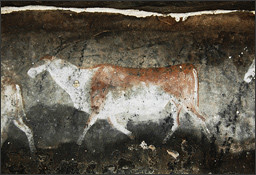 San Bushman rock painting of an Eland (c) Bradshaw Foundation