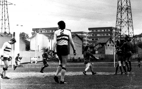 Equipe RESERVE Saison 72/73 Match du titre (Ouverture du score par Marc)