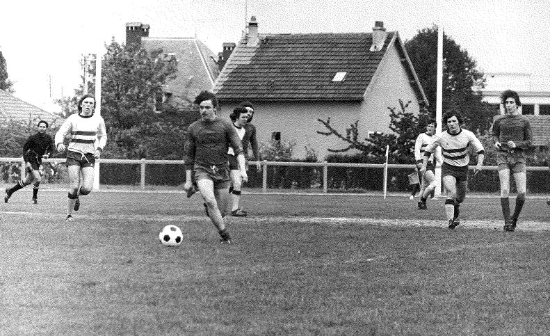 Equipe RESERVE Saison 72/73 Match du titre (Bébert lancé par Marc)