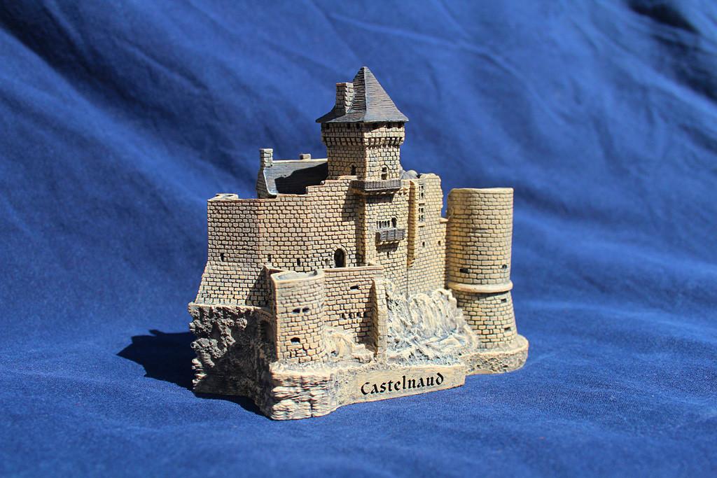 Figurine du château de Castelnaud