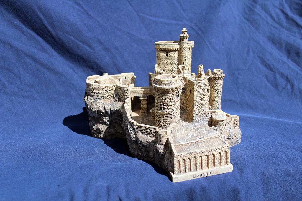 Figurine du château de Bonaguil