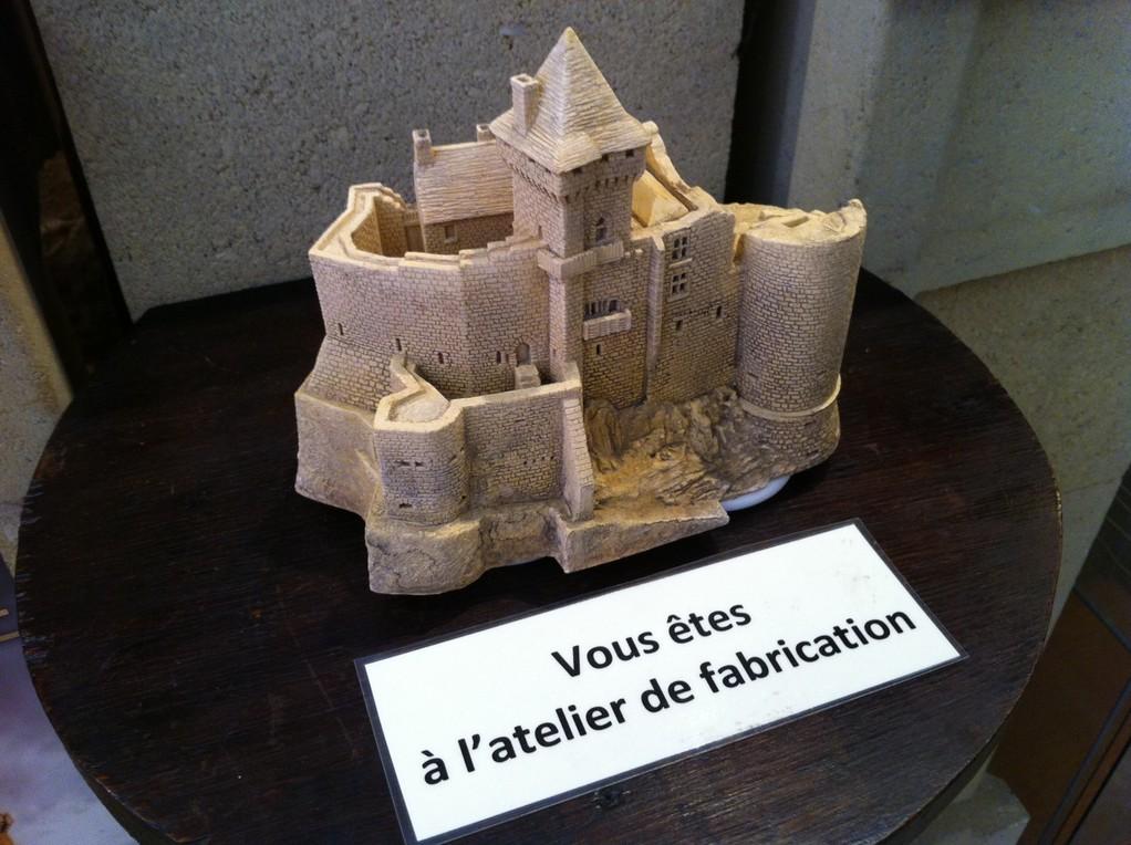Figurine moyenne de Castelnaud