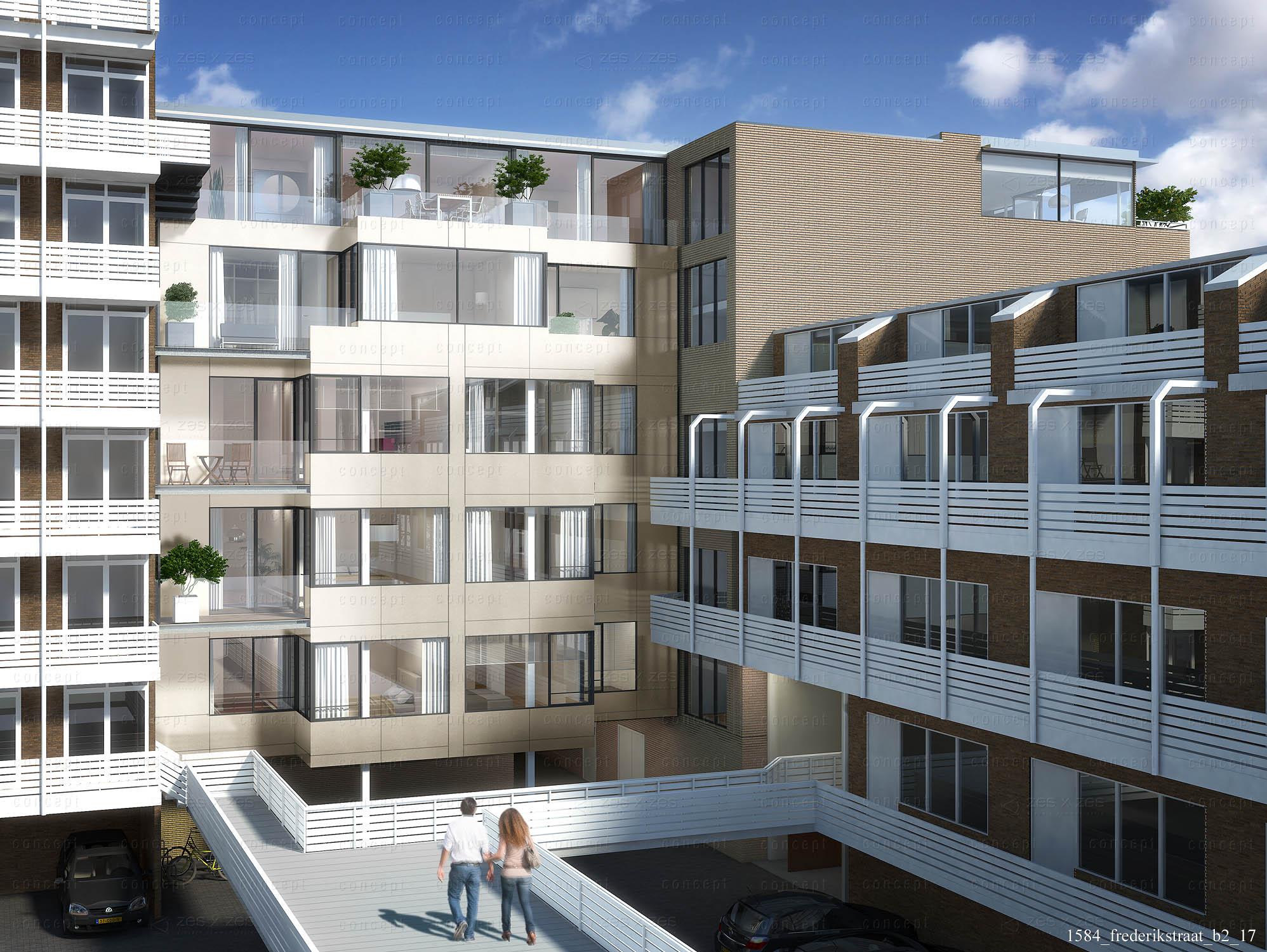 Transformatie van kantoor naar 14 luxe appartementen. Werkzaamheden: tekenwerk, directievoering, projectmanagement en kostenbewaking.