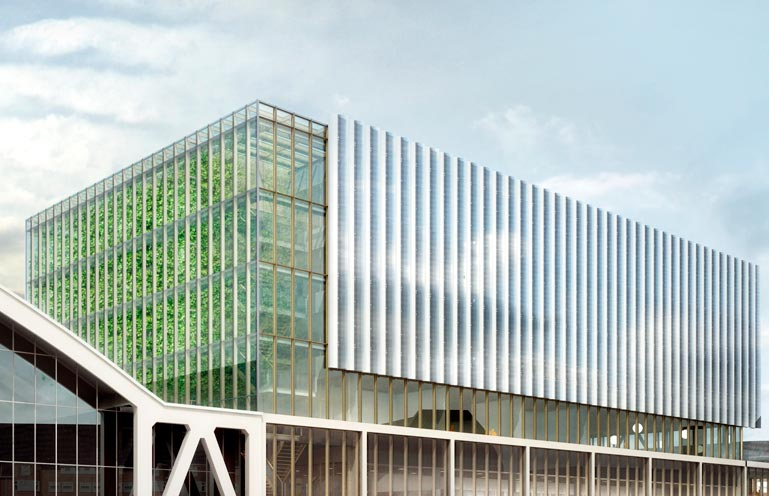 Uitbreiding van de bestaande RAI gebouwen. Werkzaamheden: bouwkundig bestek. Opdrachtgever: Benthem en Crouwel architecten.