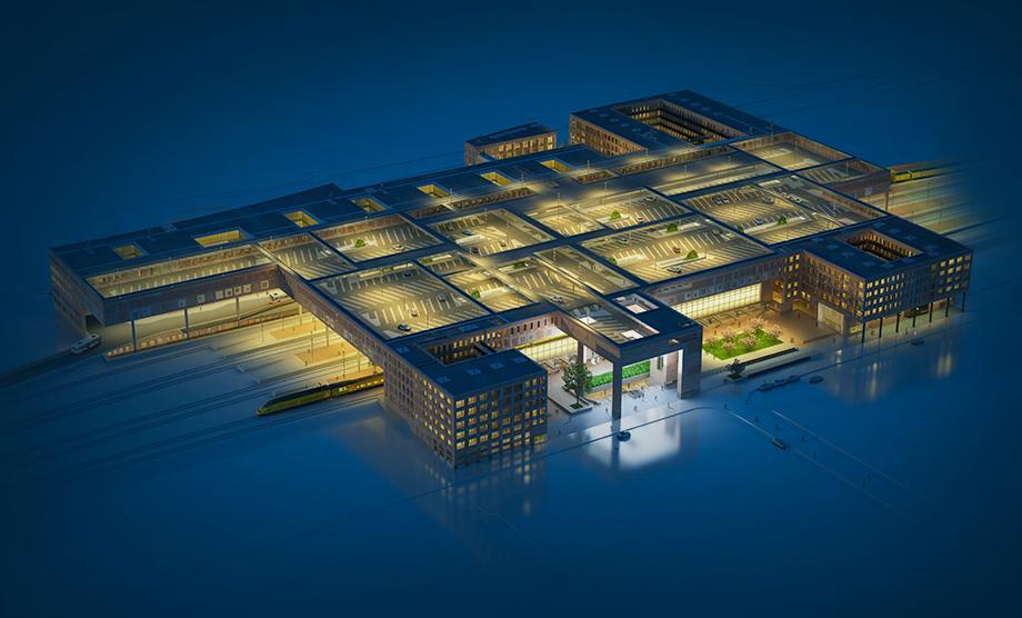 Nieuwbouw van een veelzijdige openbaar vervoerterminal, Breda Centraal. Werkzaamheden: bouwkundig bestek. Opdrachtgever: Koel van Velsen architecten en Pro Rail.