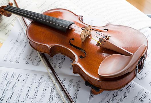 仕事道具 ヴァイオリン
