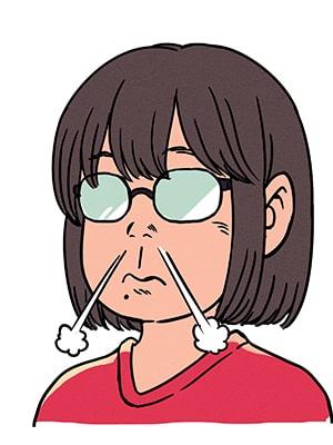 漫画風アイコン