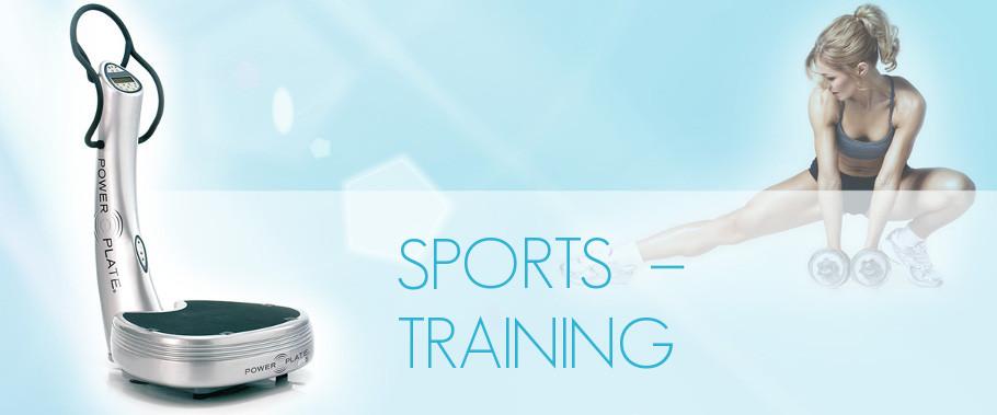 Training mit der Power Plate - individuell betreut effektiv