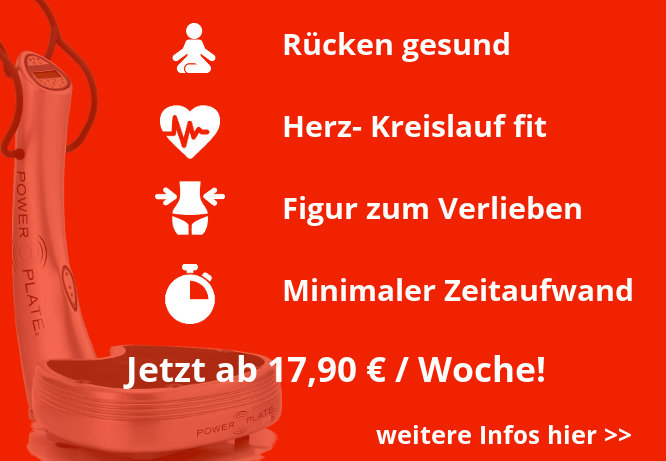 Power Plate Stuttgart Personal Training Angebot